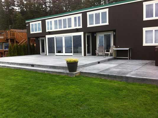 concrete finish is broomed cement pads concrete slabs, concrete flatwork